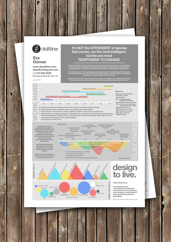 9 best Infographic Resumes images on Pinterest Infographic - infographic resumes