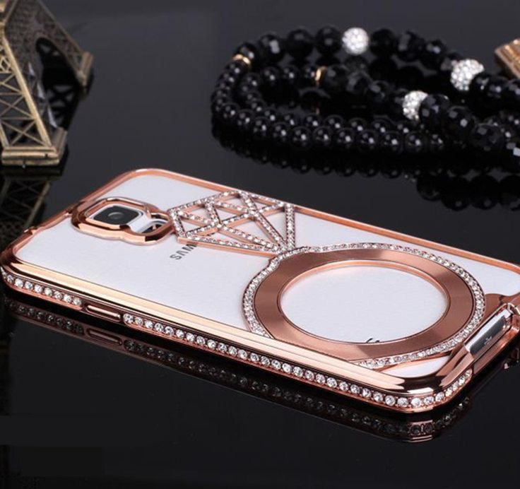 samsung galaxy s5 phone cases amazon. galaxy s5 case, deluxe stars luxury diamond crystal rhinestone bling metal frame bumper case for samsung phone cases amazon i