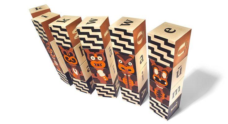 For the Kiwi kid - Maori blocks!