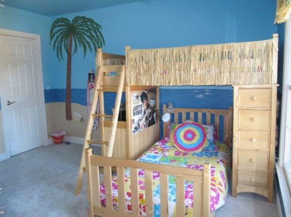 excellent girls beach bedroom decorating ideas | 42 best LOFT BED IDEAS images on Pinterest | Bedroom ideas ...