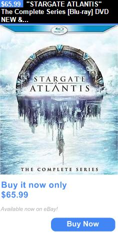 cds dvds vhs: Stargate Atlantis The Complete Series [Blu-Ray] Dvd New And Factory Sealed!!!! BUY IT NOW ONLY: $65.99