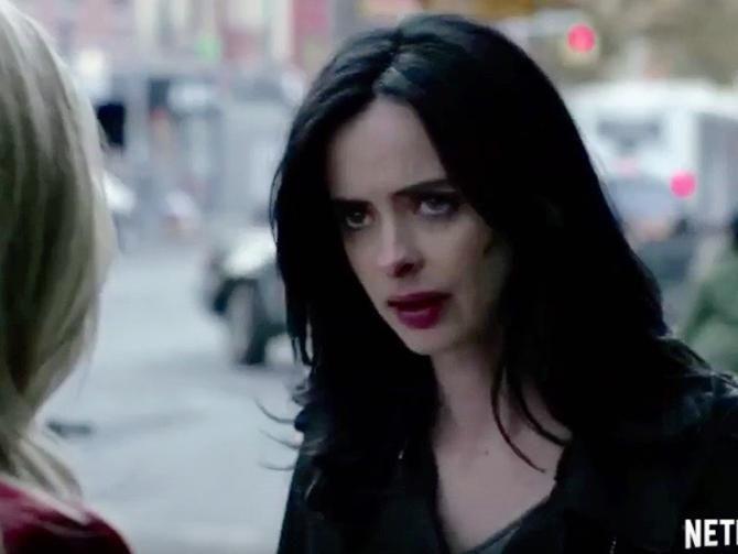 Marvel's 'Jessica Jones' tormented in new Netflix trailer