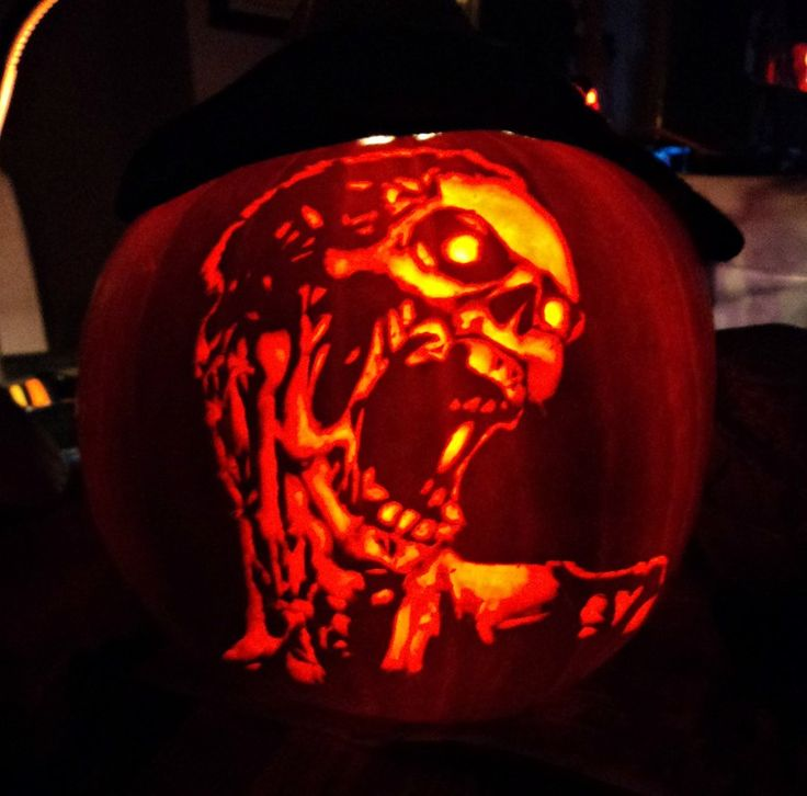 pumpkin carving | Zombie Pumpkin Carving by ~ashleymenard122 on deviantART