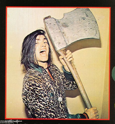 Screaming Lord Sutch- If you don't know him, put the needle down. Not everyone needs a oujia board.