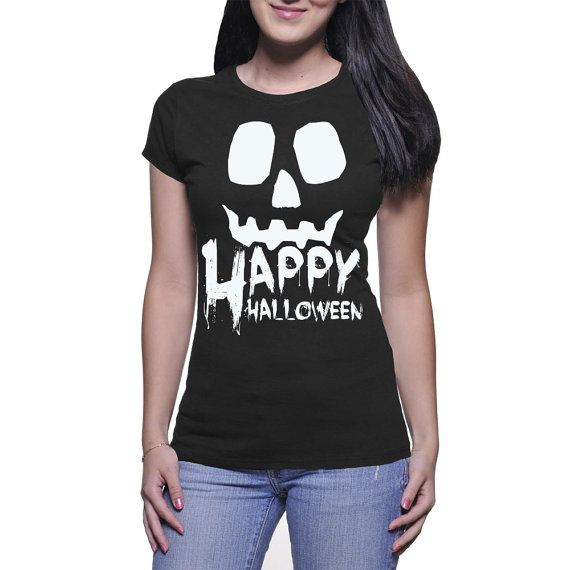 Happy Halloween Black by NavFifteen on Etsy