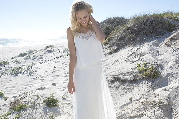 Simple and chic Diabol Rembo Styling wedding dress