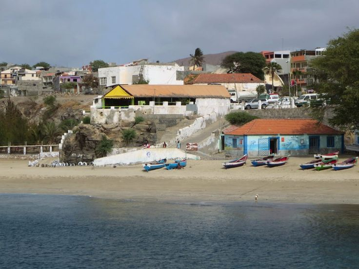 Tarrafal at the north end of Santiago Island, Cape Verde, combines beach and local life.