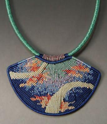 Тайная жизнь ювелирные изделия - Вселенная ручной работы искусство износ: микро-макраме симметрии - ювелирные изделия Джоан Бэбкок