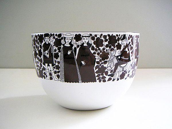 Kaj Franck enamel mixing bowl