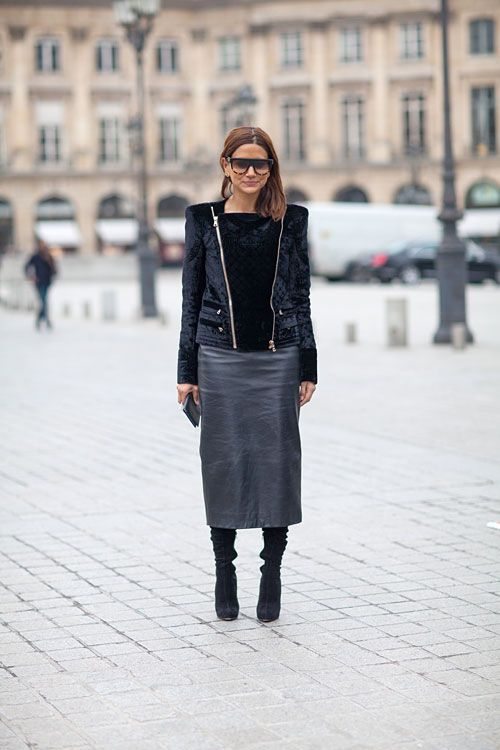 Street Style Fall 2013 Paris Fashion Week
