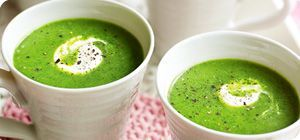 Grab those frozen peas from the back of the freezer for a quick fix soup that taste sensational.