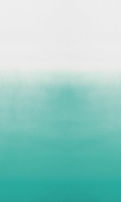 Saraille (P600/04) - Designers Guild Wallpapers - The stunning dip dye linen design from spring with intense aqua colour shading to pure white