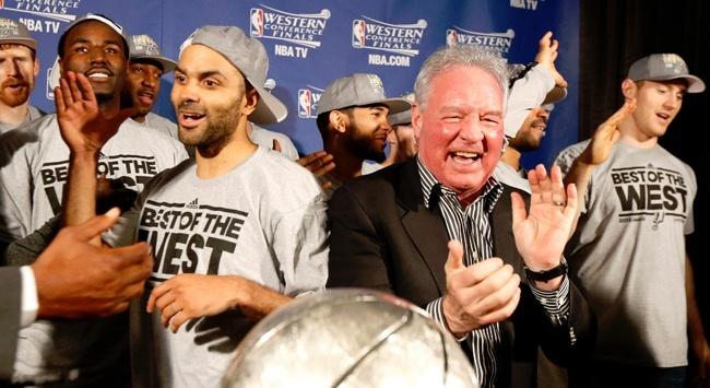 Batı Konferansı Finali'nde San Antonio Spurs, Memphis Grizzlies'i 93-86 yendi.