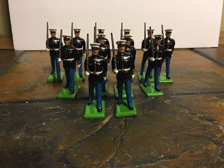 Britains Toy Soldiers US Marines 1986 | Toys & Hobbies, Toy Soldiers, 1970-Now | eBay!