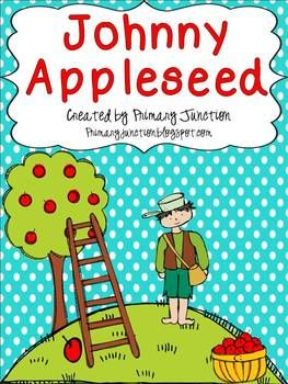 Johnny Appleseed Unit - Perfect for Grades 1-2!