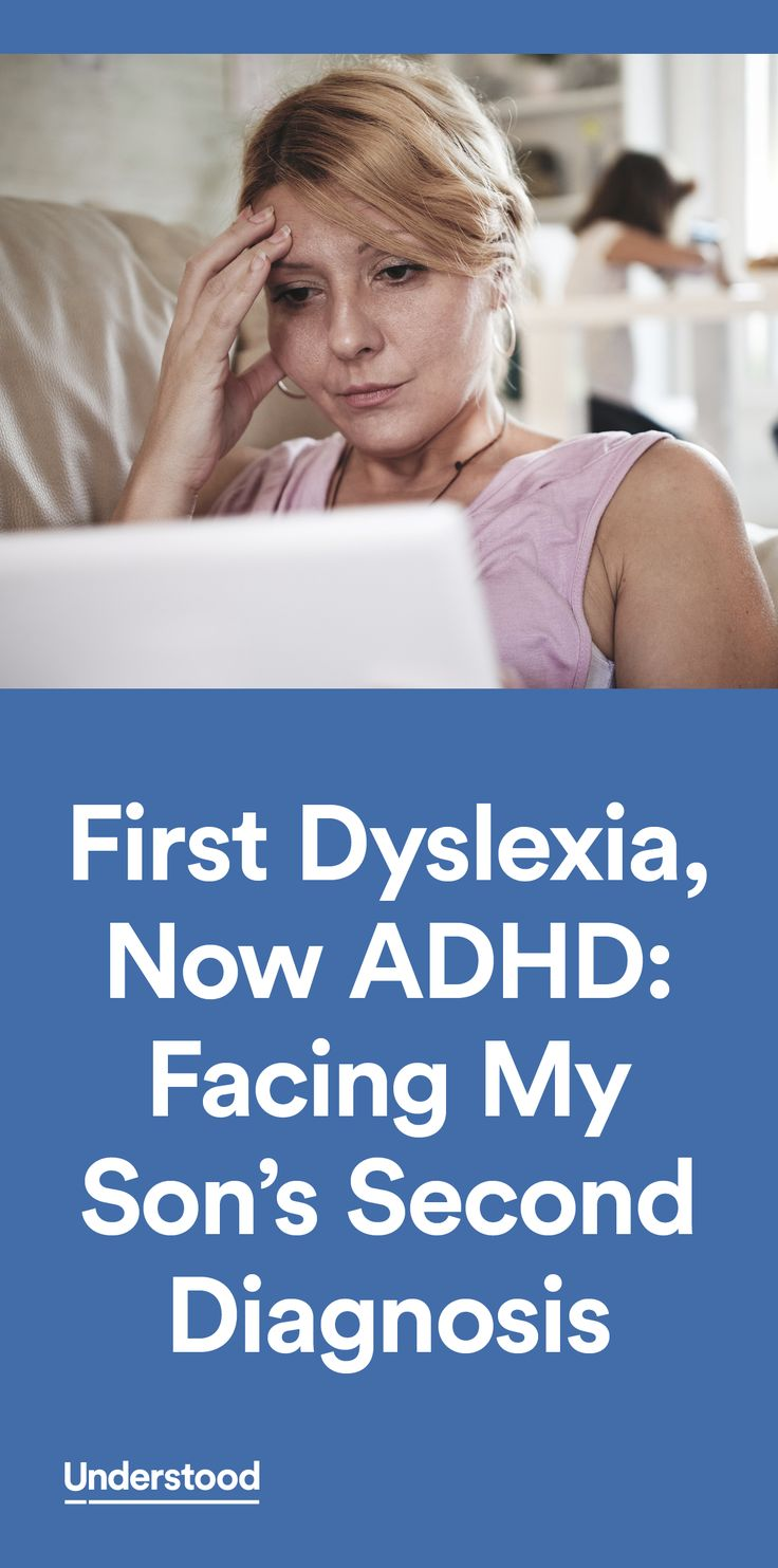 """Just when this mom was getting """"used to"""" her son's dyslexia, his new ADHD diagnosis further complicated matters. Find out how she helped her son thrive."""