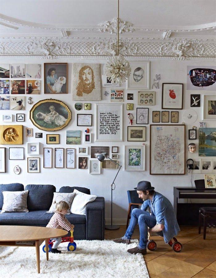 Шпалерная развеска: 50 вдохновляющих примеров