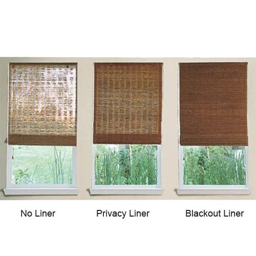 Product Details for Woven Wood Shades - Wood Roman Shades from Select Blinds                                                                                                                                                                                 More