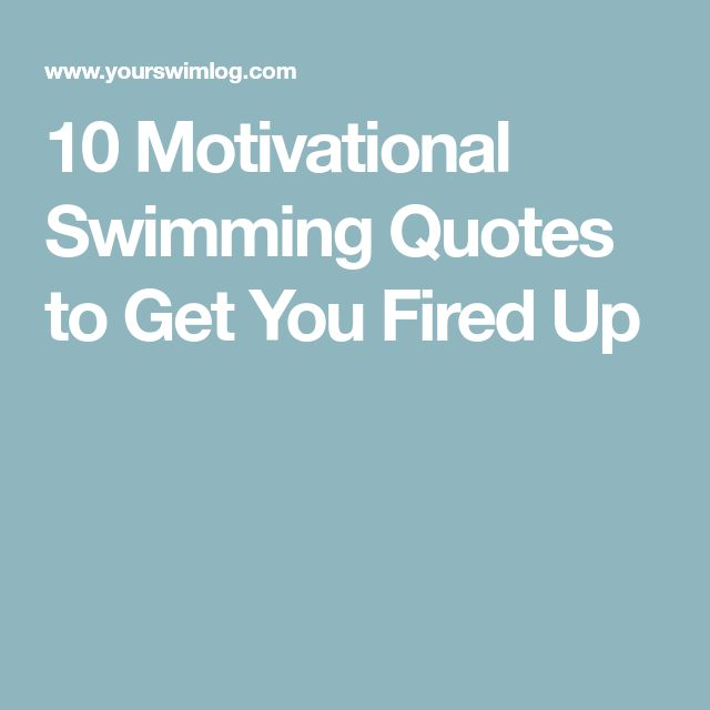 Love Finds You Quote: Best 25+ Motivational Swimming Quotes Ideas On Pinterest