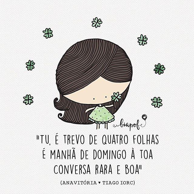 ah, eu só quero o leve da vida pra te levar  #biaPOF #anavitoria #tiagoiorc