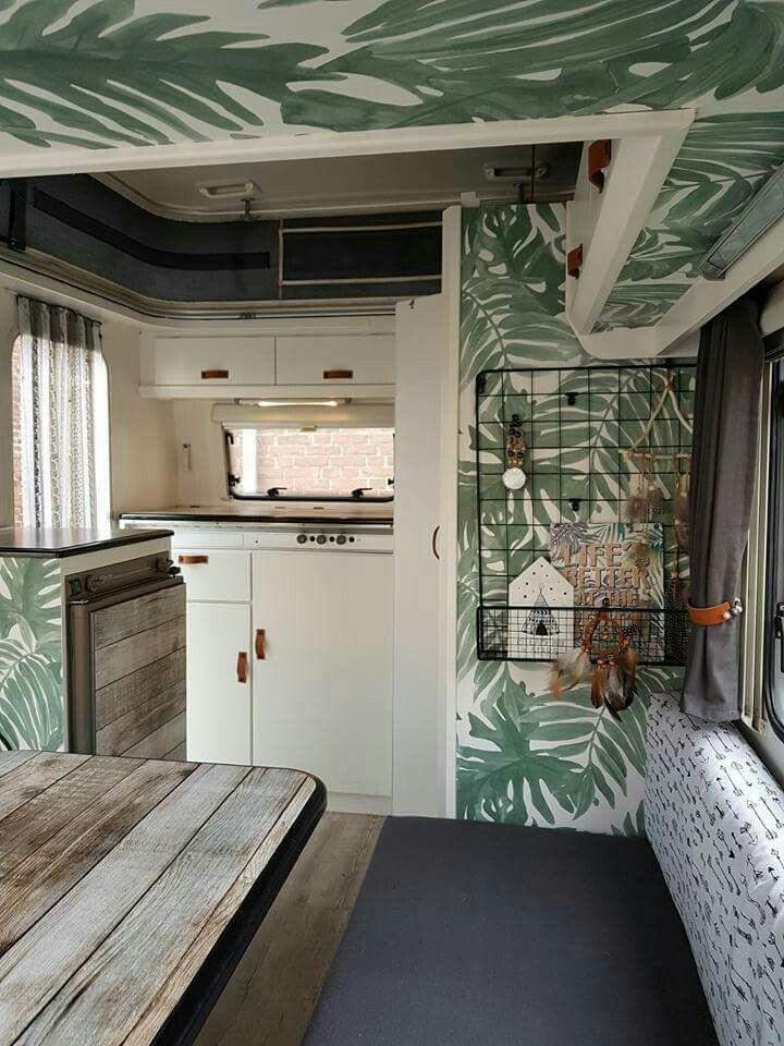 Tolle Wande Pimpen Tolle Wande In 2020 Wohnwagen Renovierung Haus Wohnwagen
