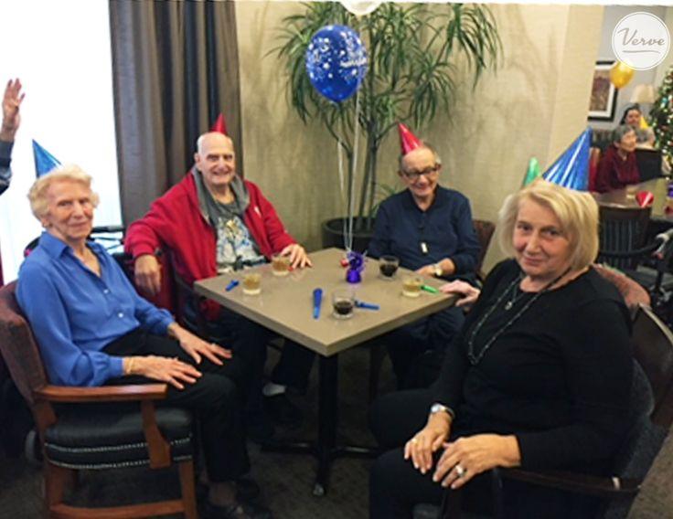 Happy 7th Anniversary Four Elms Retirement Residence! 🎂 #verveseniorliving