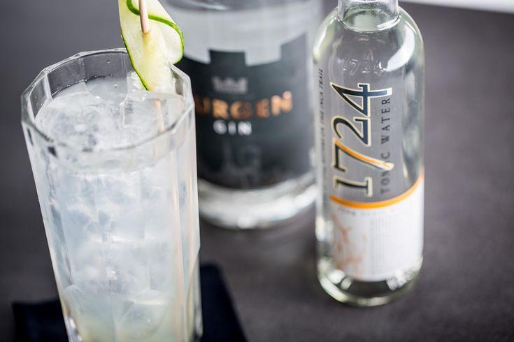 Burgen Premium Gin & 1724 Tonic  #Cheers!  #burgendrinks #burgengenuss #genuss #gin #ginandtonic #ginlovers #bartender #bar #burgengin #tonic #bartenderlife #mixology #enjoy #longdrink #ginbar #handcrafted #ginspiration #tasty #drink #alcohol #drinking #spirits