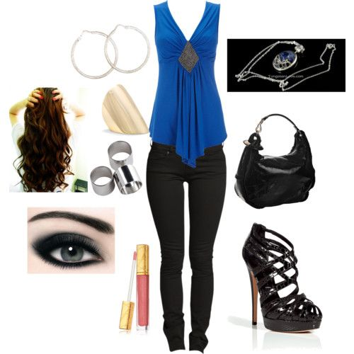 Another awesome Katherine Pierce style!