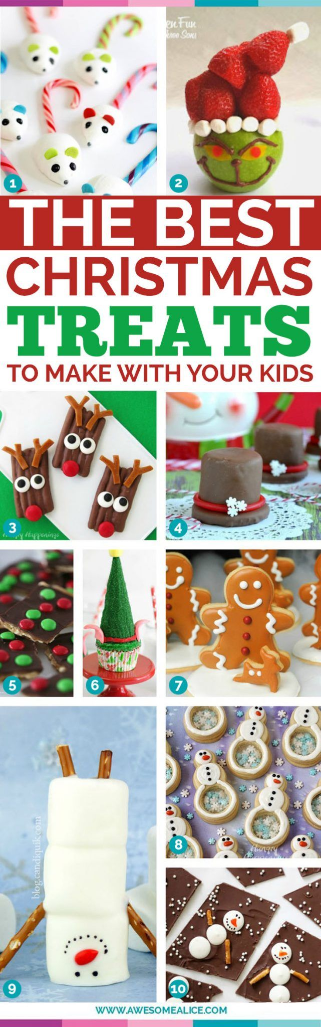 The best christmas treats to make with your kids. 29 best delicious holiday cookie recipes. Delicious, easy and fast cookie recipes to serve during the holiday season. GIft them or eat them these delicious treats will be loved by all. #christmas #christmascookies #cookies #holidaycookies #cookierecipes #kidschristmas www.awesomealice