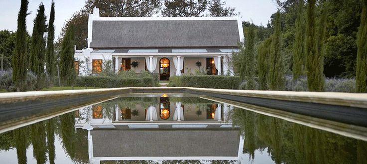 www.sunsafaris.com #Hawksmoor #House #winelands #cape #town #stellenbosch