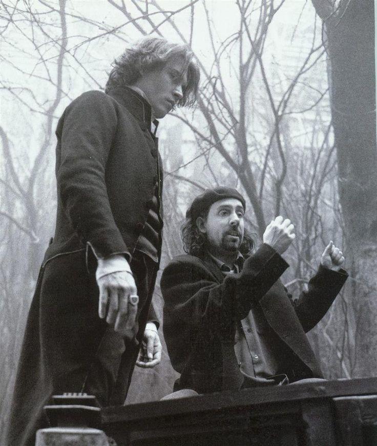 Johnny Depp and Tim Burton. S)