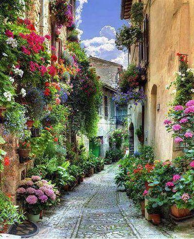 Spello, Liguria, Italy