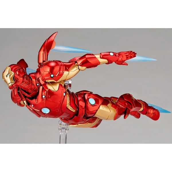 Amazing Yamaguchi Revoltech Bleeding Edge Armor Iron Man Iron Man Action Figures Iron Man Art Iron Man