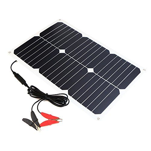 ALLPOWERS Solar Battery Maintaner 18V 18W Solar Car Boat Power Panel Battery Charger Maintainer for Automobile Motorcycle Tractor Boat Batteries. For product info go to:  https://www.caraccessoriesonlinemarket.com/allpowers-solar-battery-maintaner-18v-18w-solar-car-boat-power-panel-battery-charger-maintainer-for-automobile-motorcycle-tractor-boat-batteries/