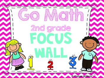 Go Math 2nd Grade Focus Wall!!!