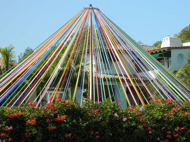 The May pole is perhaps the most famous tradition associated with modern May Day, and it had equal importance for Celtic Beltane festivals. Description from guardianlv.com. I searched for this on bing.com/images
