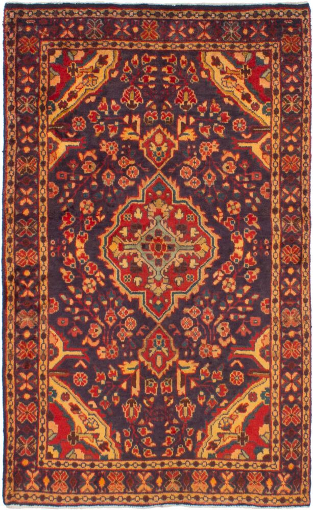 Hand Knotted Persian Carpet 3 5 X 5 7 Nahavand Traditional Wool Rug Ecarpetgallery Bayak With Images Persian Carpet Vintage Wool Rug Traditional Style Rugs
