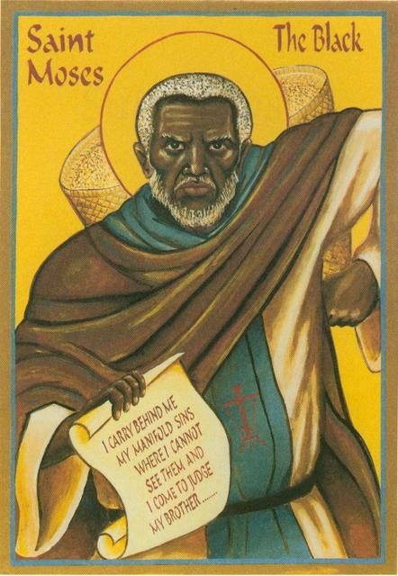Abba Moses the Ethiopian. Icon, Sayings, and Life « Saint Nicholas ...