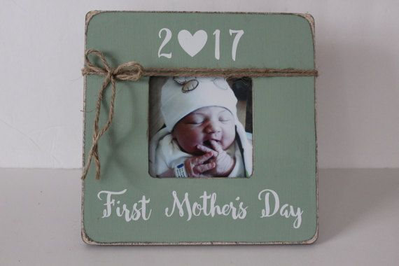 First Mother's Day Frame Mother's Day Gift New by MyRusticPlace