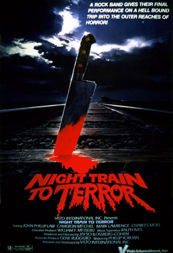 Night Train To Terror 1985 Dvd N Movies Horror Movies Horror