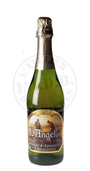 Cerveja Annoeullin L'Angelus Bière de Froment, estilo Biere de Garde, produzida por Brasserie d'Annoeullin, França. 7% ABV de álcool.