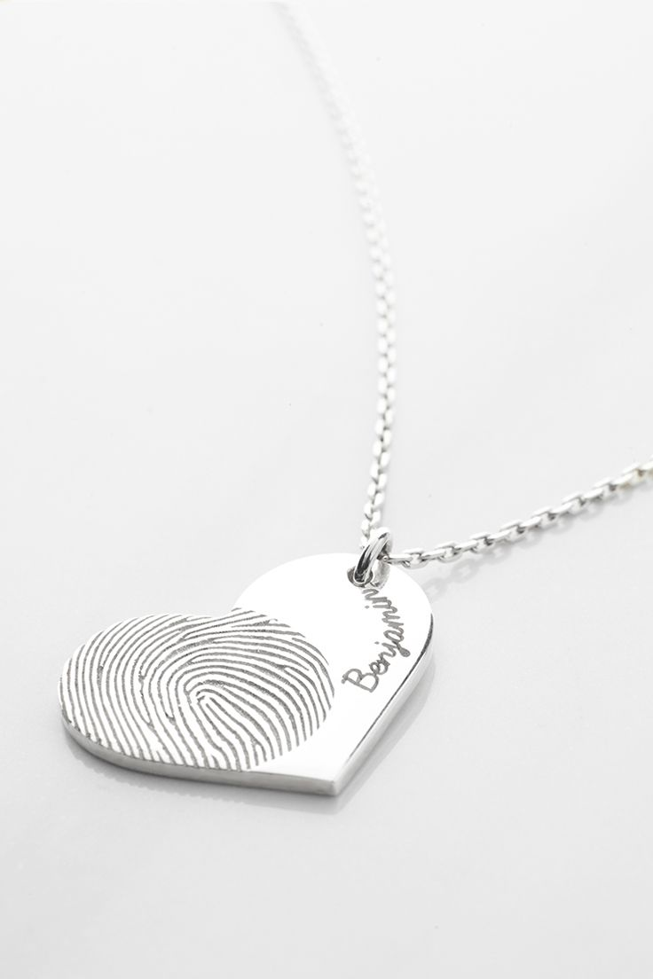 Heart Fingerprint Necklace • Heart Thumbprint Necklace • Fingerprint heart necklace • Actual fingerprint necklace • Fingerprint pendant necklace • thumbprint jewelry • fingerprint memorial jewelry • Sterling silver remembrance necklace • Condolence Jewelry in Sterling Silver • Personalized sympathy jewelry • in loving memory gifts • memorial gifts for loss of mother • grieving gifts • christmas presents • christmas gifts for her • xmas gift ideas for women • xmas gifts for her