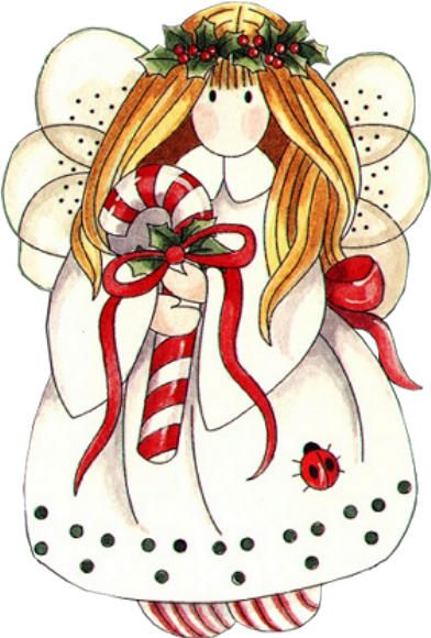 CHRISTMAS ANGEL, CLIP ART