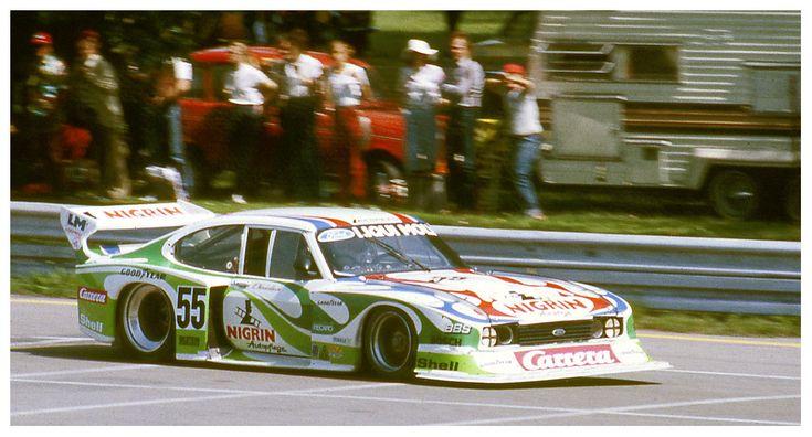 """Manfred """"BiBi"""" Winkelhock - Ford Capri III Turbo 1.7 - Liqui Moly Equipe - ADAC-Norisring-Trophäe """"200 Meilen von Nürnberg"""" - 1981 Deutsche Rennsport Meisterschaft, round 7 - Deutsche Automobil-Rennsport-Trophäe, round 7"""