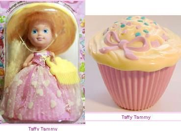 Cupcake doll! I LOVED mine!! She was purple and I STILL remember what she smelled like !!!!!!