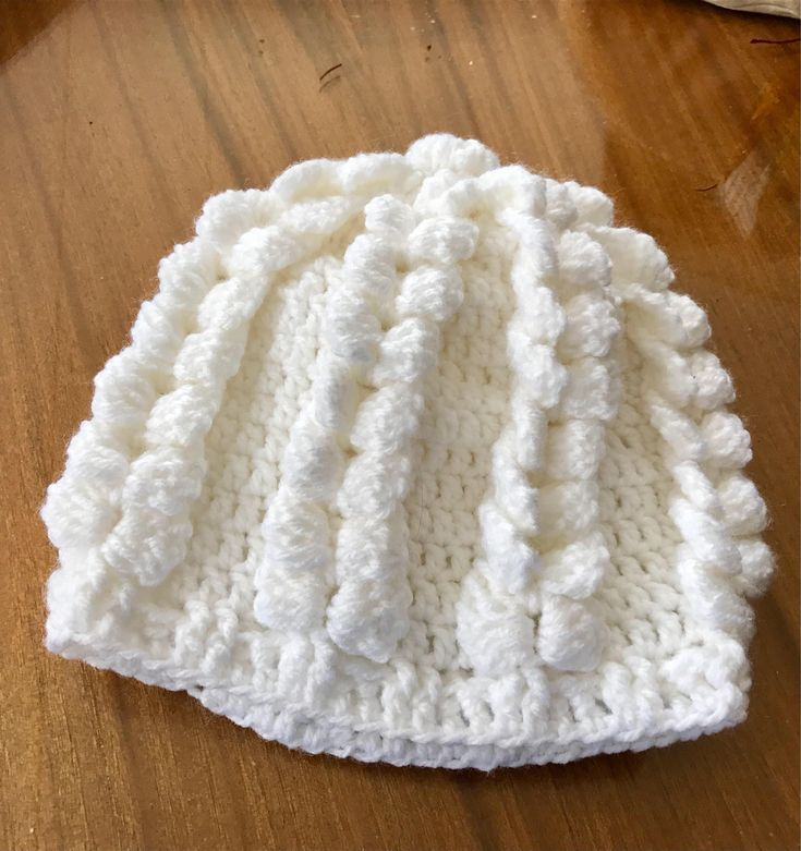 Excited to share the latest addition to my #etsy shop: Childs  beanie hat #white