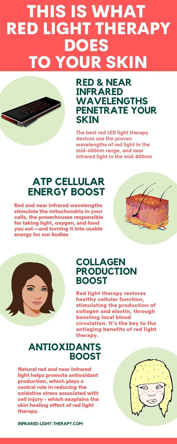 Here's What Red Light Therapy Does to Your Skin