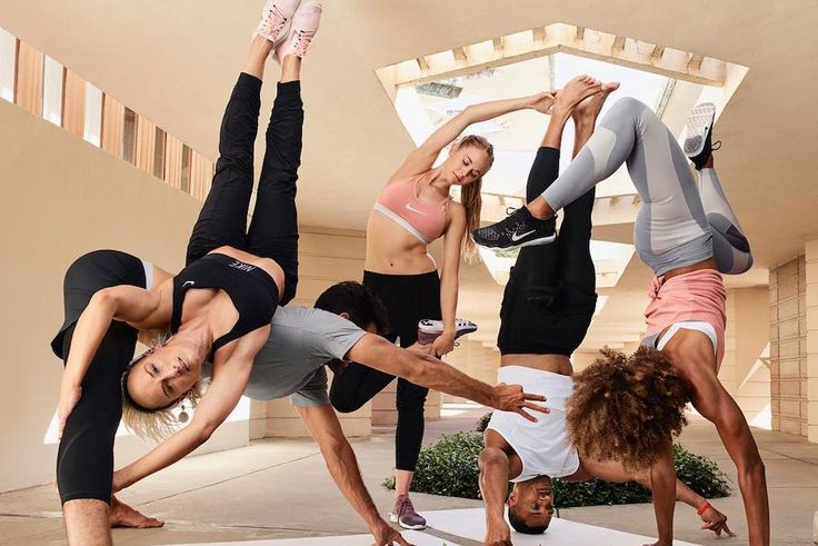 Nike Training Club just released a new set of yoga workouts and we're seriously swooning.