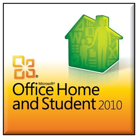 Microsoft Office 2010 Home and Student (PKC)- Activates on 1 Computer