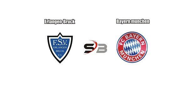 Prediksi Bola Erlangen-Bruck vs Bayern munchenpada pertandingan Club Friendlies, antara dimana tim Erlangen-Bruck akan bertemu dengan tim Bayern munchen. Minggu 22:00 (09/07/2017) yang bertempat di Adi Dassler Sportplatz (Herzogenaurach)    Menjelang pertandingan Club Friendlies, Erlangen-Bruck tampil cukup memuaskan dalam limapertandingan terakhirnya dari lima laga tersebut Erlangen-Bruck hanya mendapat satu kali hasil imbang dan sudah mendapat empat kali